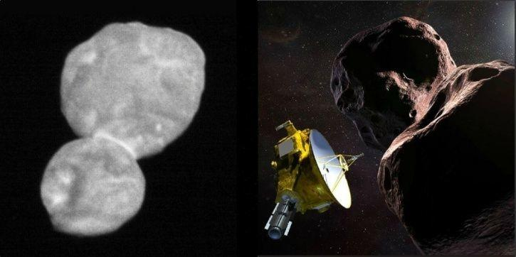 NASA, Ultima Thule, snowman, farthest Object, New Horizons, Alan Stern, Earth