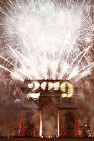 New year 2019 Happy New Year New year eve around the world