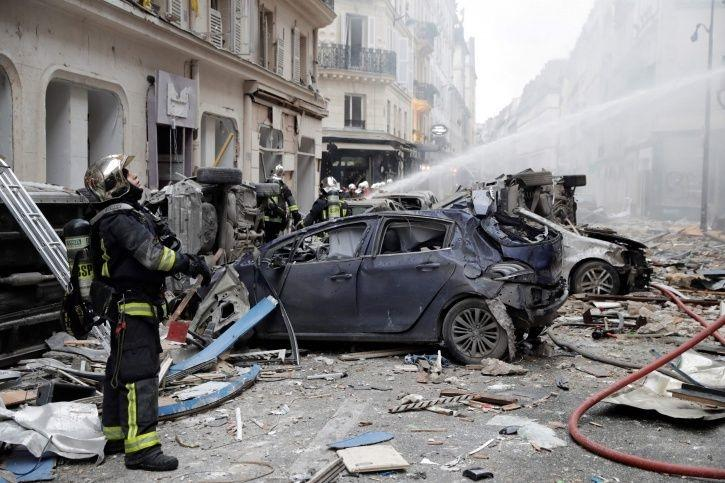 Paris Gas Explosion