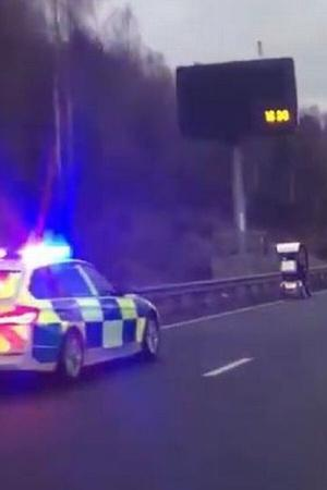 Police Car Chase Worlds slowest police chase UK Police chase UK News Police Chase 2019 Police