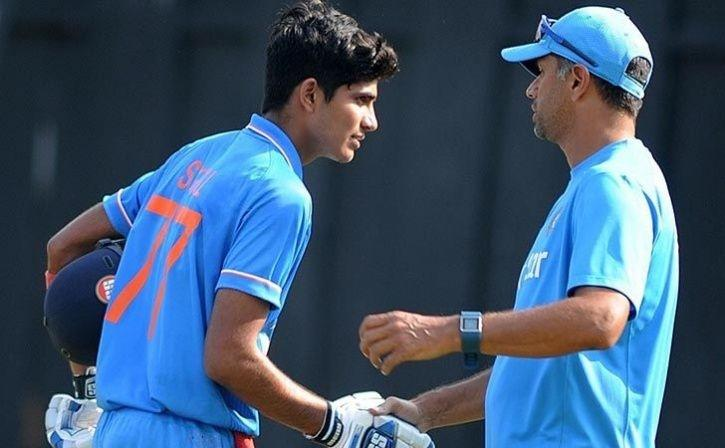 Rahul Dravid Influence Helped My Batting Evolve says Shubman Gill