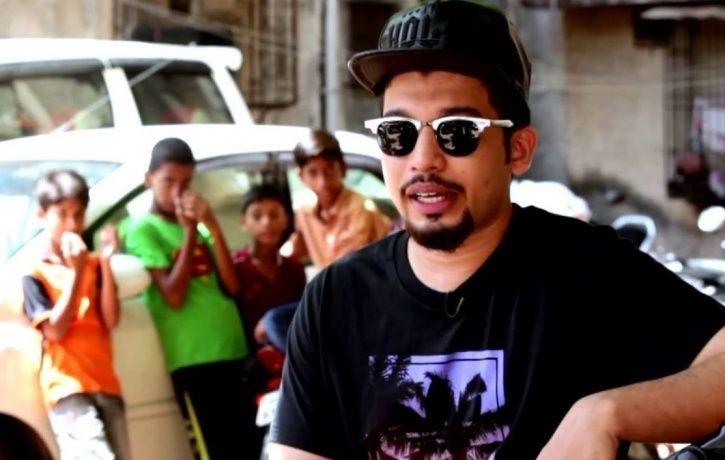 Rapper Naezy whose story inspired Gully Boy.