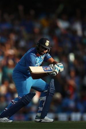 Rohit Sharma made 133
