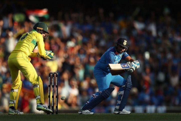 Rohit Sharma made 133.