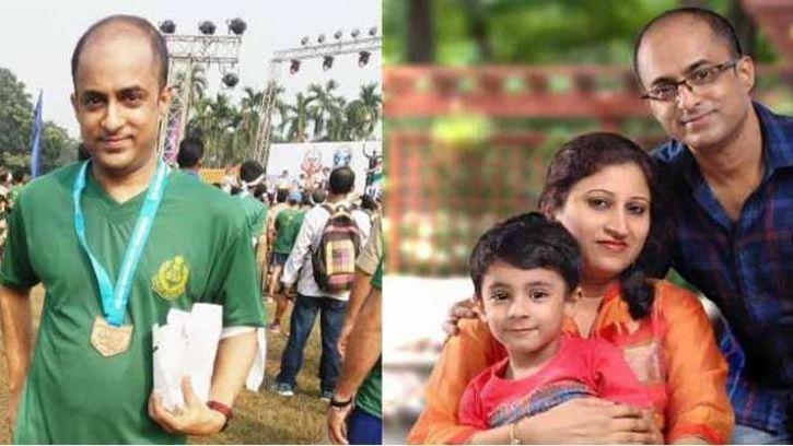 Rupayan Roy mumbai marathon