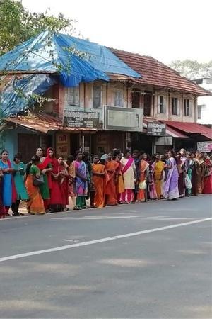 sabarimala human wall womens wall reclaiming the streets women empowerment power of women