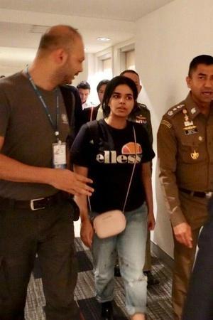 Saudi Arabia Rahaf Mohammed Al Qunun Australia United Nations refugee