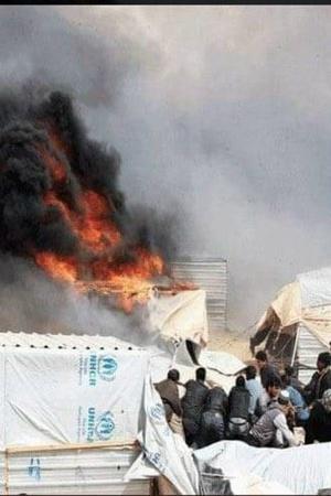 Syria woman burns herself children humanitarian crisis refugeesJordan Bashar AlAssad