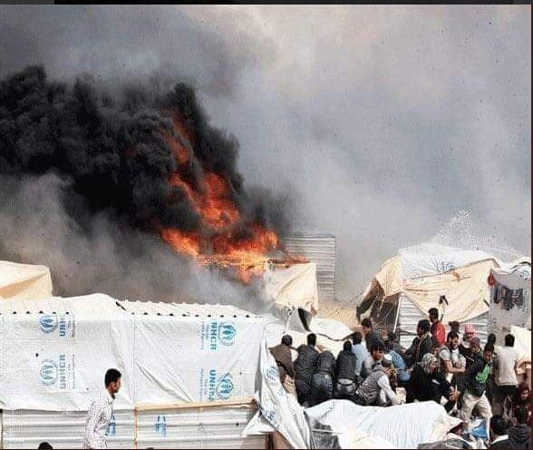 Syria, woman burns herself, children, humanitarian crisis, refugees,Jordan, Bashar Al-Assad