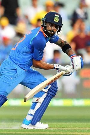 Virat Kohli made 104