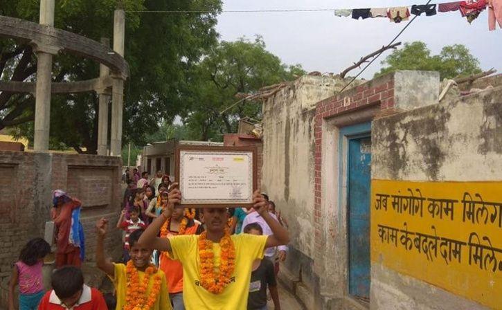 Young Warrior Brings 23 To School In Meerut Village