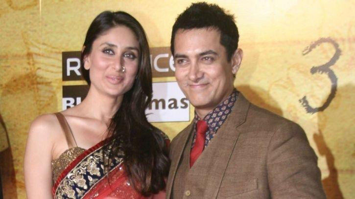 Aamir Khan and Kareena Kapoor.