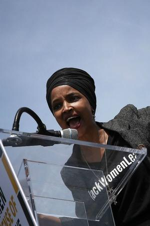 After Trumps Racist Comments On Congresswomen Of Colour Feisty Ilhan Omar AOC Vow To Fight
