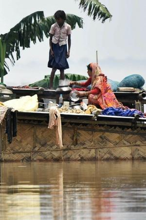 As NRC Tightens Grip People In Assams River Islands Miss Hearing Due To Rampant Rain Flood