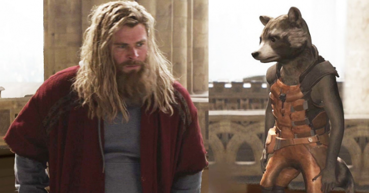 Avengers Endgame deleted scene between Thor and Rocket gets leaked online.