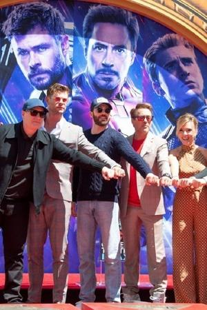 Avengers Endgame reunion at San Diego Comic Con