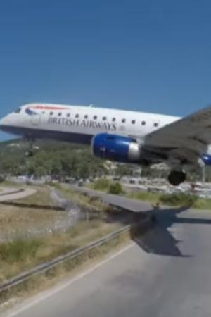 British airways landing