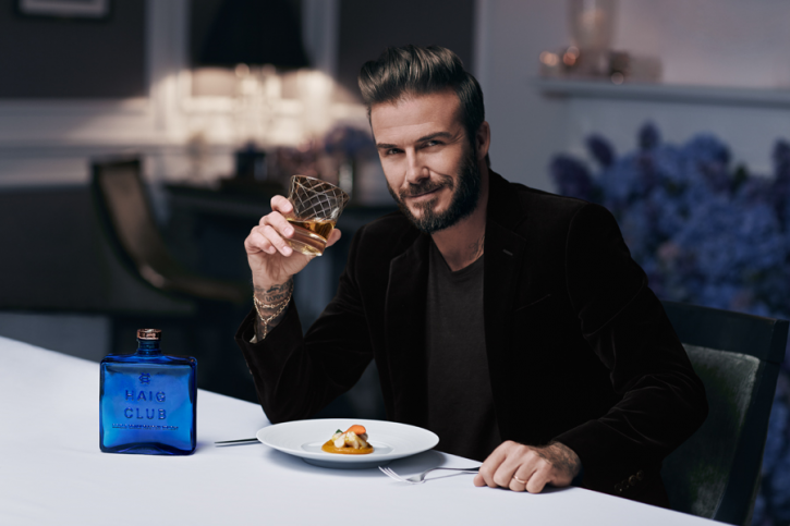 Celebrity alcohol brands: David Beckham