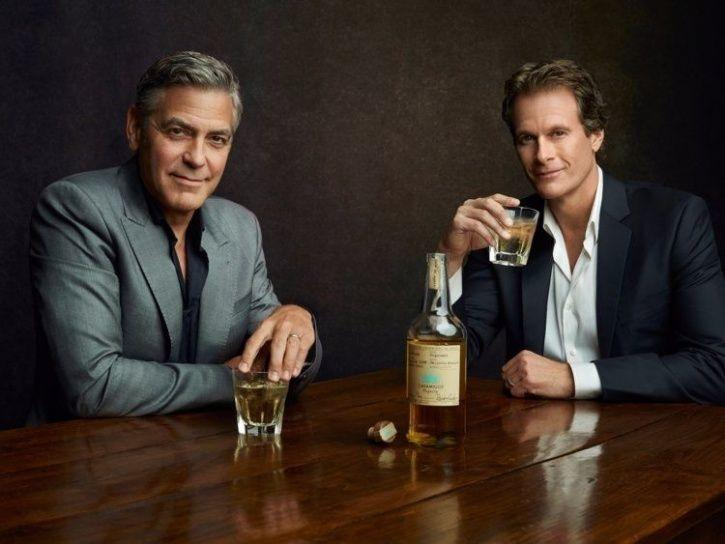 Celebrity alcohol brands: George Clooney and Rande Gebber