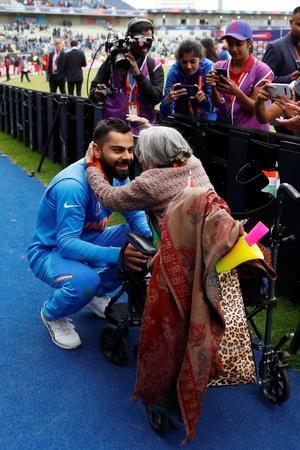 Charulata Patel is Indias biggest fan