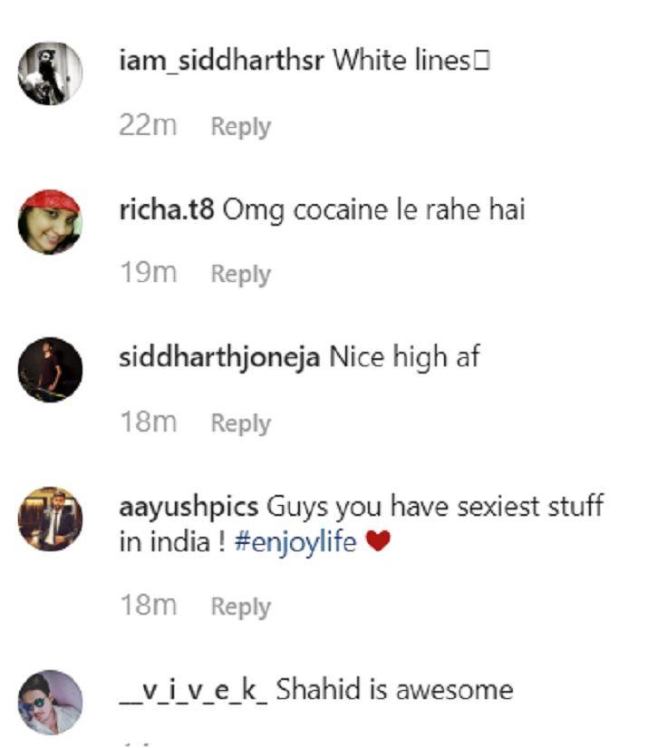 Deepika Padukone doing drugs.