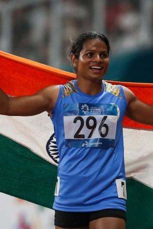 Dutee Chand is in great form