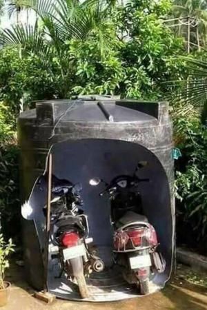Ecofriendly parking