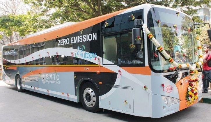 Electric Bus Bengaluru, Bengaluru E Buses, Electric Bus India, India Electric Vehicles, BMTC Electri