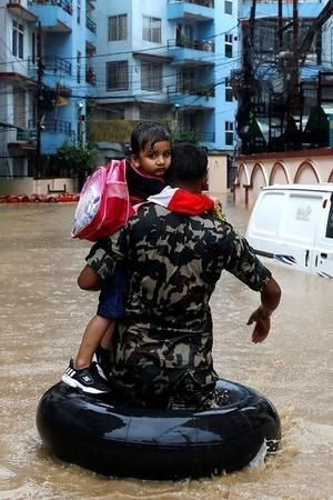 Flood In South Asia
