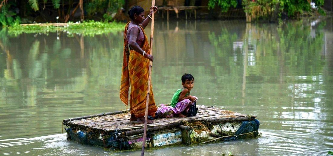 Flood Situation In Assam Worsens As 63,000 People Affected And 143 Villages Under Water