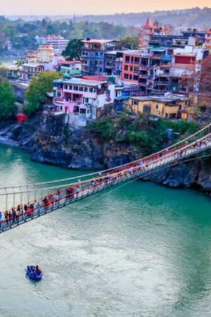 Forget Selfies Iconic Lakshman Jhula In Rishikesh Closed Down Due To Overcrowding Traffic