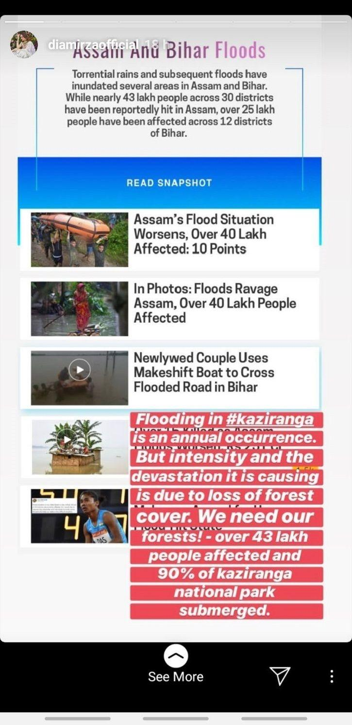 From Priyanka Chopra To Dia Mirza, Celebs Voice Concern Over Assam Flood & Urge Fans To Donate
