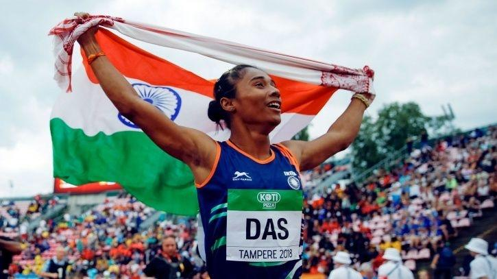 Hima Das is on a roll