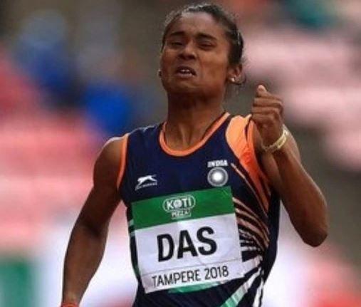 Hima Das won 200m gold