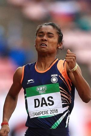 hima das won gold medal