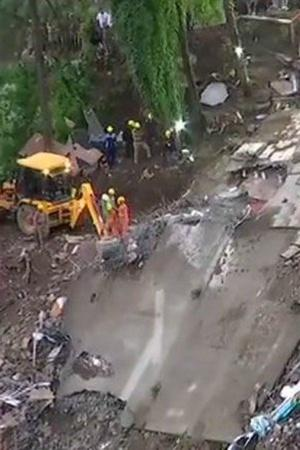 Himachal Pradesh building collapse who is responsible