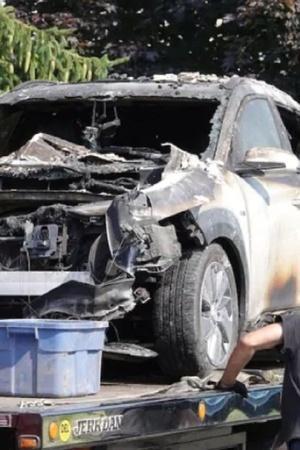 Hyundai Kona Explosion Kona Explosion Kona Battery Fire Hyundai Kona Catches Fire Electric Car B
