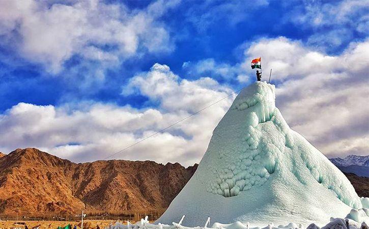 ice stupa