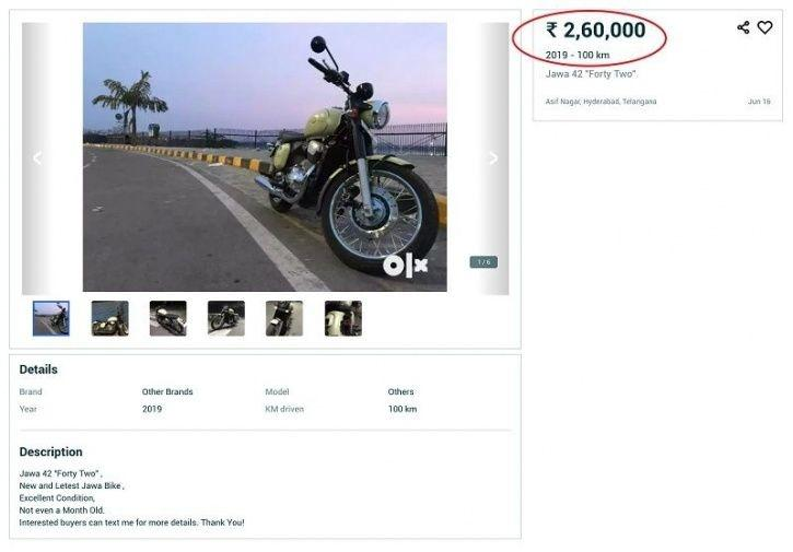 Jawa Motorcycles Delivery, Overpriced Jawa Bikes, Jawa Bikes On OLX, Jawa Motorcycles OLX Listing, S