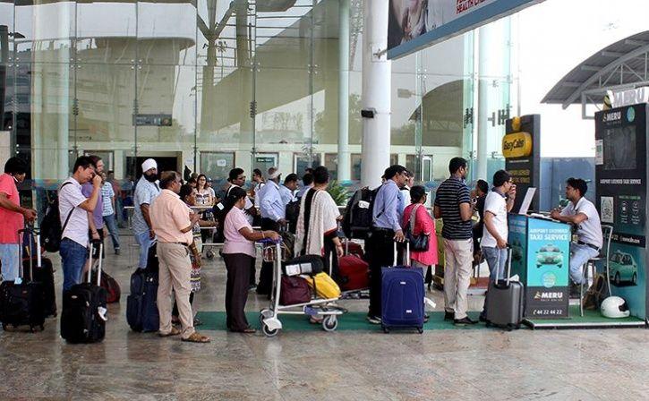 delhi man:Man Enters Delhi Airport With Fake Ticket To Bid