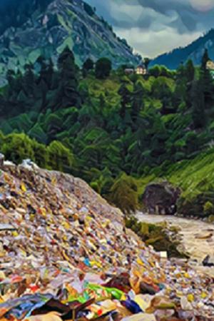 manali leh sikkim garbage himachal pradesh garbage pollution environment dharamshala shimla