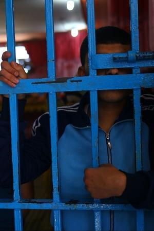 Missing jail food and buddies man steals bike petrol to return to prison