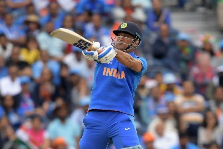 MS Dhoni made 50
