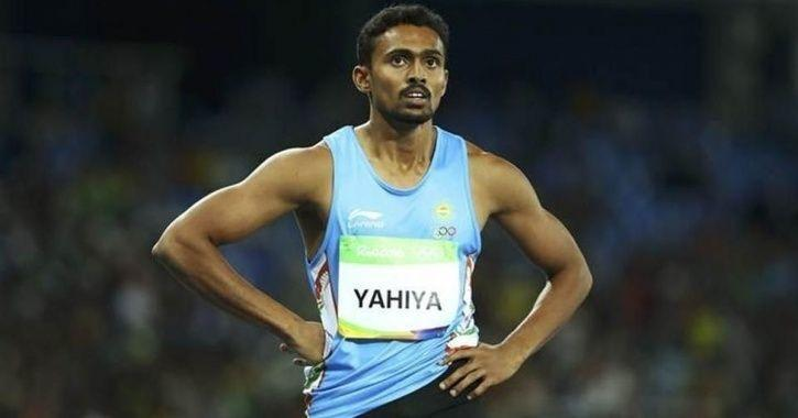 Muhammed Anas won gold in 200m
