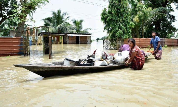 NRC Closing In, For thousands Of People In Flood-Ravaged Assam It