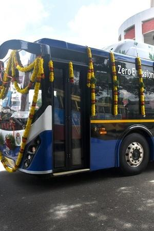 Odisha Electric Buses Odisha EBus Odisha Clean Mobility Odisha Buses Electric Bus India India
