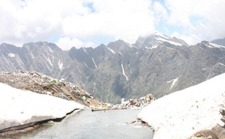 Polluting River Ganga