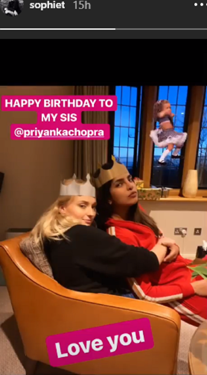 Nick Jonas' Birthday Wish For Wife Priyanka Chopra Is All Love But We Can't Get Over Her Red Dress