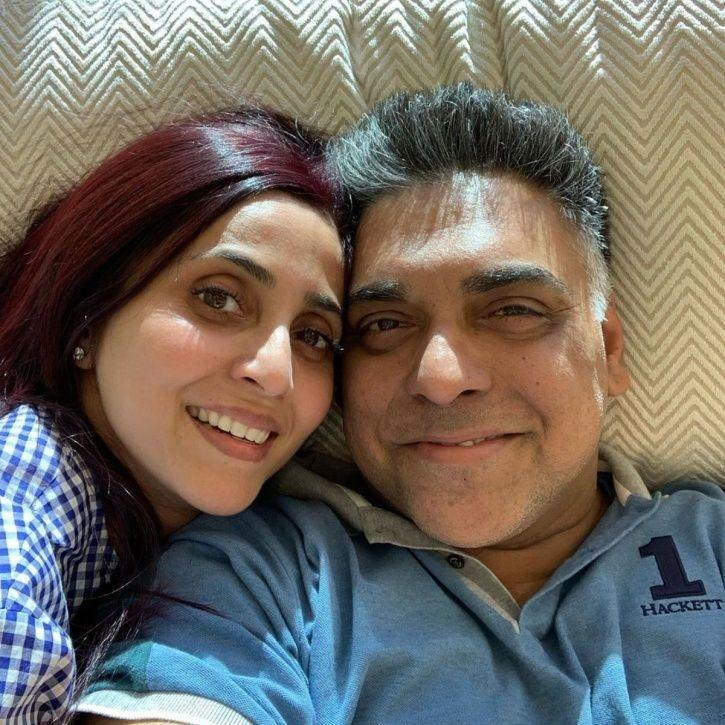 Ram Kapoor with wife Gautami Kapoor.
