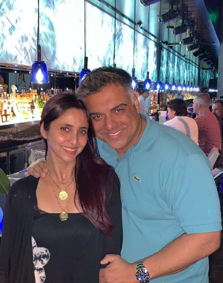 Ram Kapoor with wife Gautami Kapoor post his weight loss journey.
